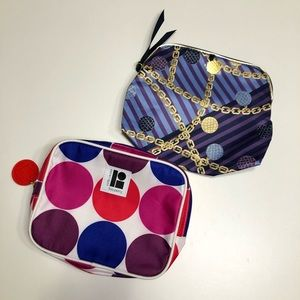 💋2/$25 Estee Lauder Cosmetic Pouch x2